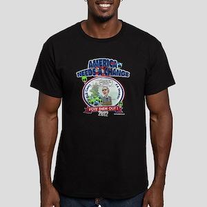 """""""Alien Amnesty"""" Men's Fitted T-Shirt (dark)"""