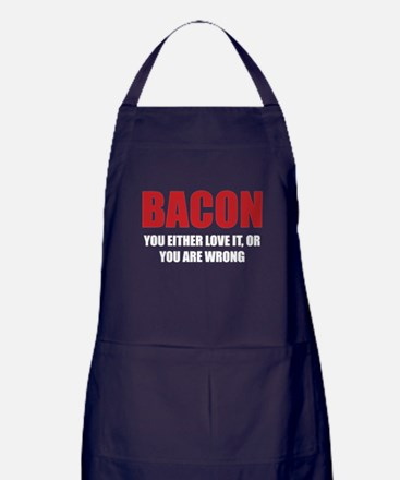 Bacon you either love it Apron (dark)