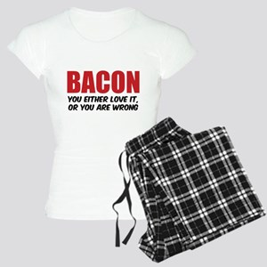 Bacon you either love it Women's Light Pajamas