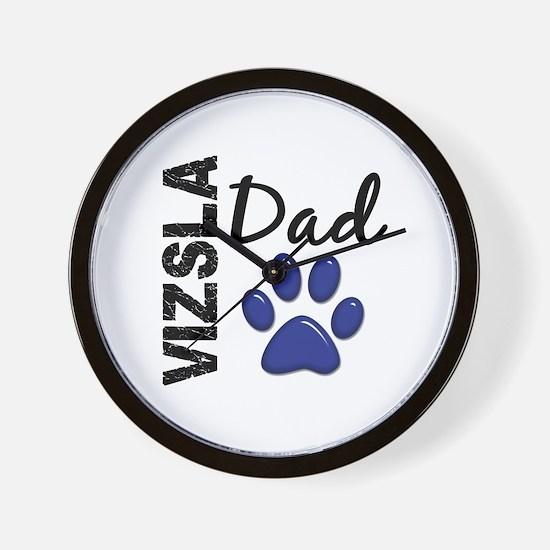 Vizsla Dad 2 Wall Clock