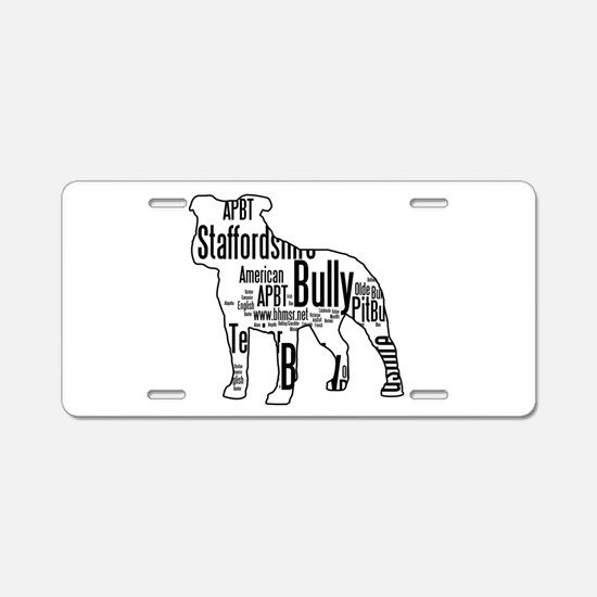 Bully Art - Aluminum License Plate