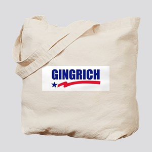 Newt Gingrich Tote Bag