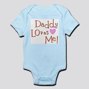 Daddy Loves Me!<br> Infant Bodysuit