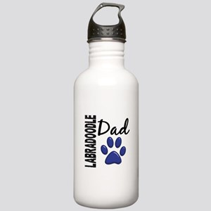 Labradoodle Dad 2 Stainless Water Bottle 1.0L
