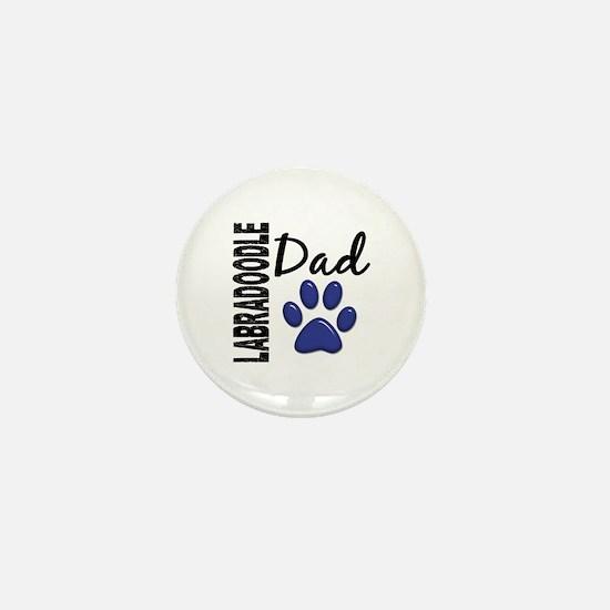 Labradoodle Dad 2 Mini Button