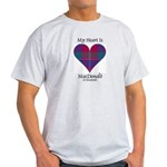 Heart - MacDonald of Glenaladale Light T-Shirt