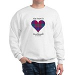 Heart - MacDonald of Glenaladale Sweatshirt