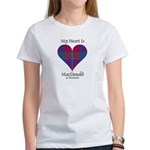 Heart - MacDonald of Glenaladale Women's T-Shirt