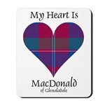Heart - MacDonald of Glenaladale Mousepad