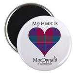 Heart - MacDonald of Glenaladale Magnet