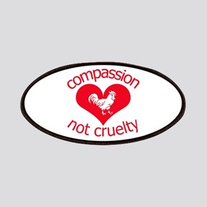 Compassion not cruelty Patches