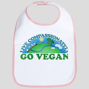 Live Compassionately Bib