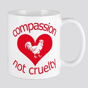Compassion not cruelty Mug