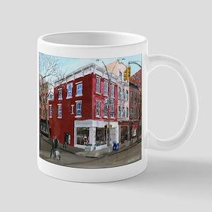 Winter on Bleeker Street Mug