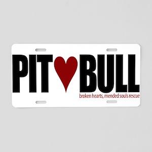 Pit (Love) Bull - Aluminum License Plate