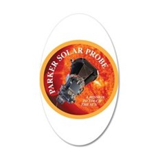 Parker Solar Probe Wall Decal