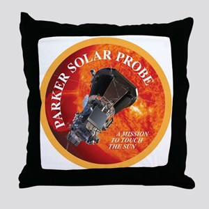 Parker Solar Probe Throw Pillow