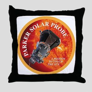 Parker Solar Probe Throw Pillow
