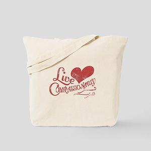 Heart Compassion Tote Bag