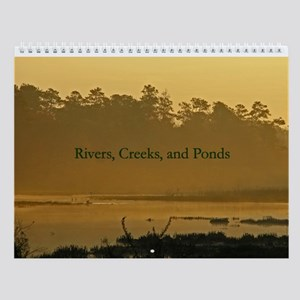 Rivers, Creeks, and Ponds Wall Calendar