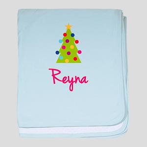 Christmas Tree Reyna baby blanket