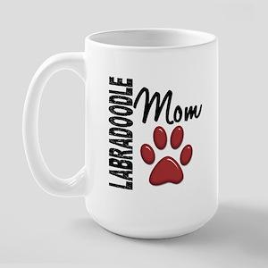 Labradoodle Mom 2 Large Mug