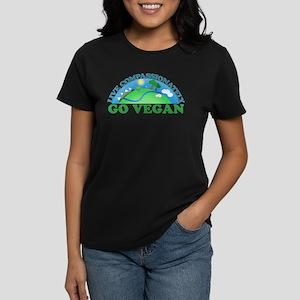 Live Compassionately Women's Dark T-Shirt