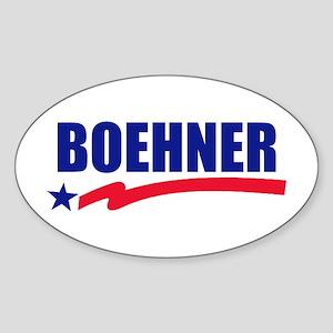 John Boehner Sticker (Oval)