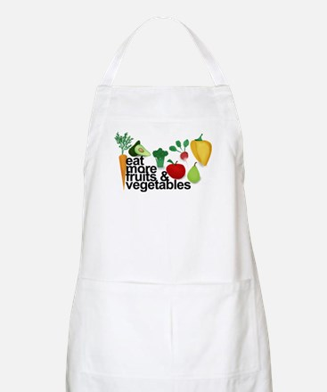 Eat Fruits & Vegetables Apron