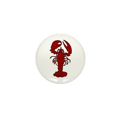 Lobster Mini Button (100 pack)