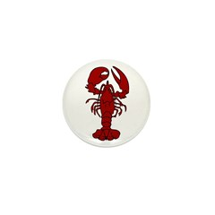 Lobster Mini Button (10 pack)