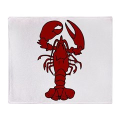 Lobster Throw Blanket