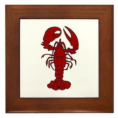 Lobster Framed Tile