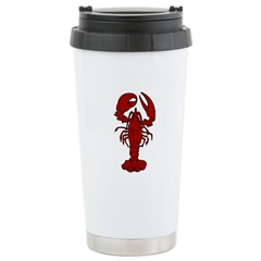 Lobster Stainless Steel Travel Mug