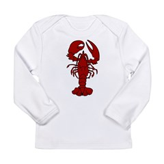 Lobster Long Sleeve Infant T-Shirt