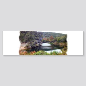 Lost Maples Pond Bumper Sticker