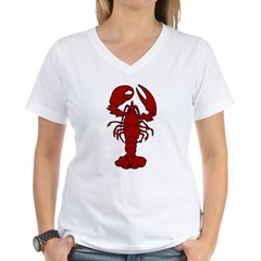 Lobster Women's V-Neck T-Shirt