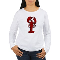 Lobster Women's Long Sleeve T-Shirt