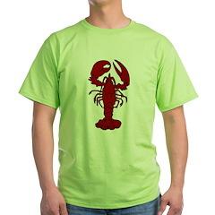 Lobster Green T-Shirt