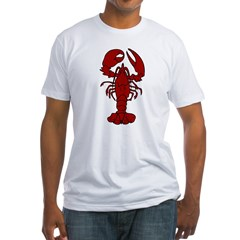 Lobster Fitted T-Shirt
