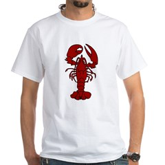 Lobster White T-Shirt