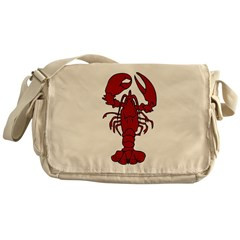 Lobster Messenger Bag