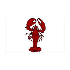 Lobster 38.5 x 24.5 Wall Peel