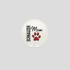 Schnauzer Mom 2 Mini Button