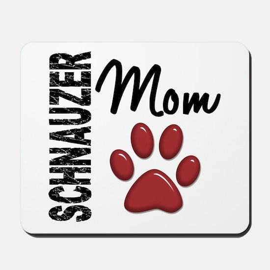 Schnauzer Mom 2 Mousepad
