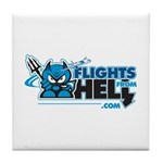 Flights From Hell Tile Coaster