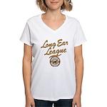 Long Ear League Women's V-Neck T-Shirt