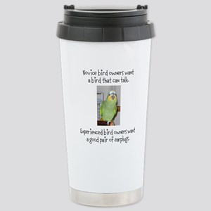 Noisy Bird Stainless Steel Travel Mug