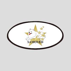 Samoyed Stars Patches