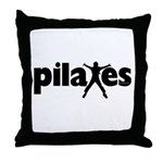 New! Pilates by Svelte.biz Throw Pillow